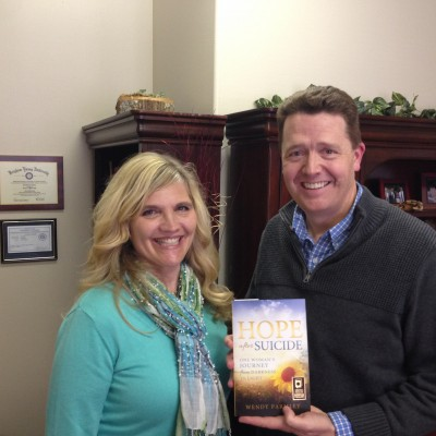 Wendy Parmley and Dr. Paul at Live On Purpose Radio