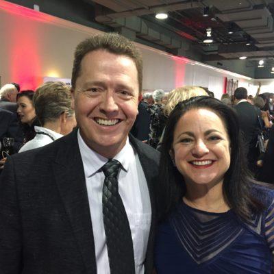 Arlene Cogen and Dr Paul Jenkins