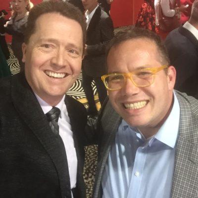 Phil Gerbyshak with Dr Paul Jenkins